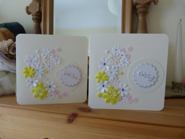 Spring Floral Card by Cariad Crafts: Cards Ideas, Handmade Cards, Creative Cards, Cards 2 00, Cards 200, Floral Cards