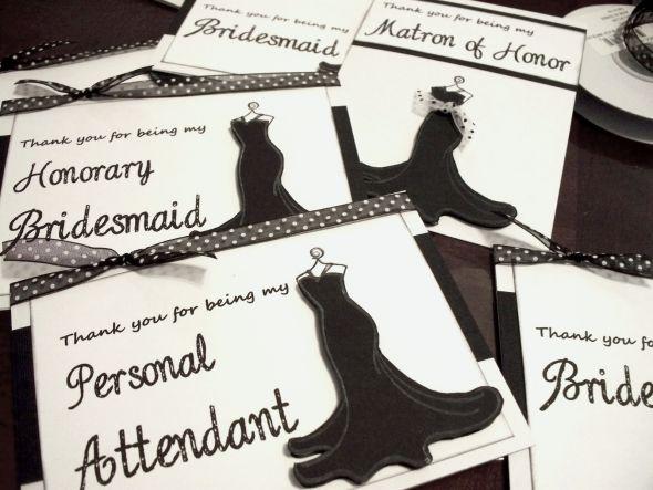 Honorary Bridesmaid, Personal attendant