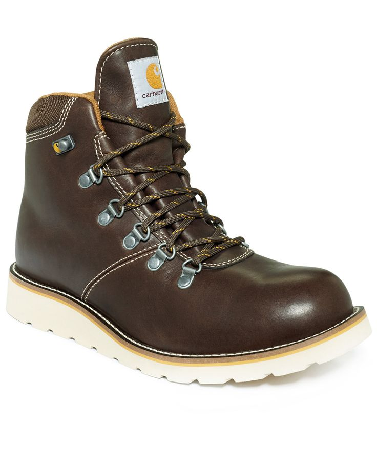 Carhartt Shoes, Plain Toe 6-Inch Waterproof Wedge Boots - Boots - Men - Macy's