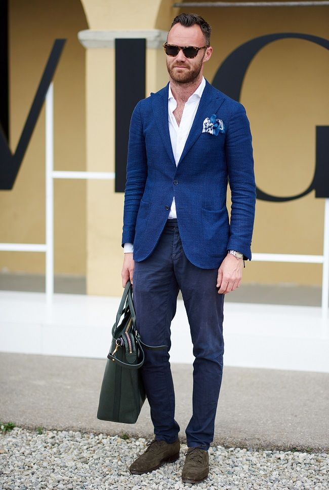 Smart casual style at Pitti Uomo 2015
