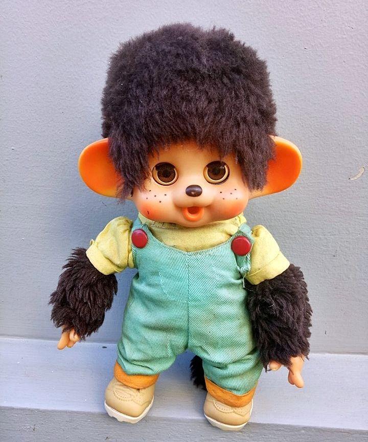 vintage monchichi ToHo Japan doll