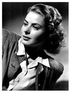 Ingrid Bergman 1940. Magnificent. What else can we say?