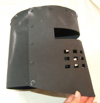 un casque de chevalier