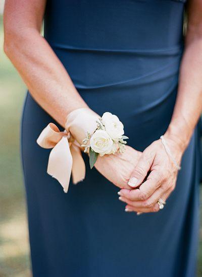 lovely corsage   Melissa Schollaert #wedding