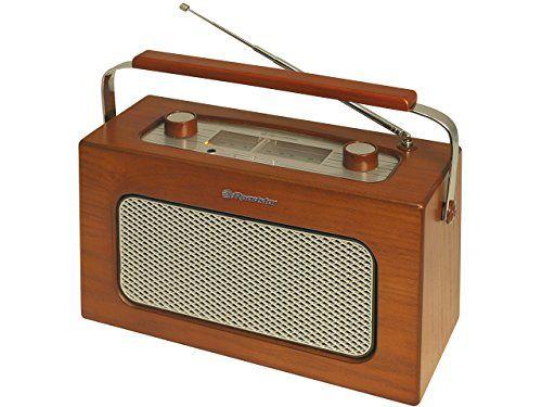 Roadstar TRA-1958N/WD - Radio portátil (analógico, FM, MW, 2.4W, 3.5 mm, 25.5 cm) madera - https://vivahogar.net/oferta/roadstar-tra-1958nwd-radio-portatil-analogico-fm-mw-2-4w-3-5-mm-25-5-cm-madera/ -