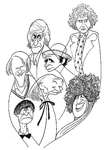'dr. who' by al hirschfeld