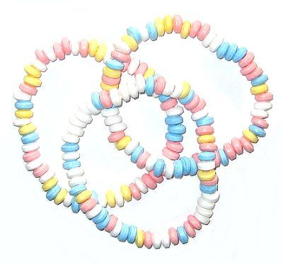 Collier de bonbons - Look o look (lot de 3 colliers)