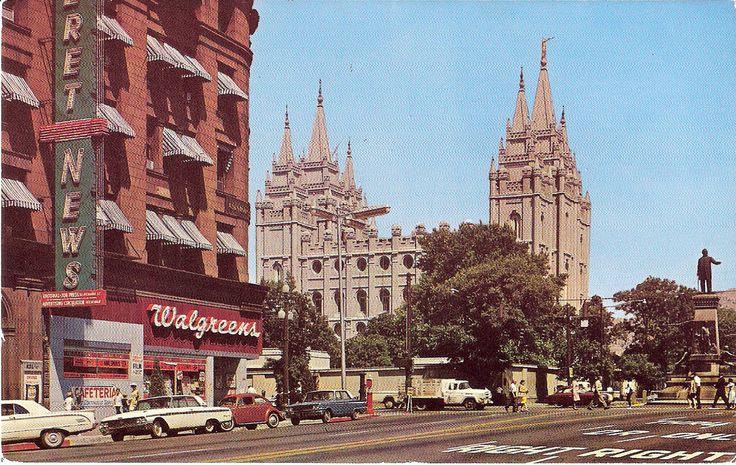 Main Street - Salt Lake City, Utah - Early 1960's