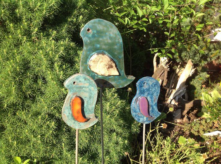 Ogrodowe ptaszki