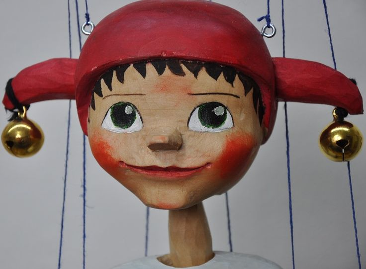 puppet of jester marionette
