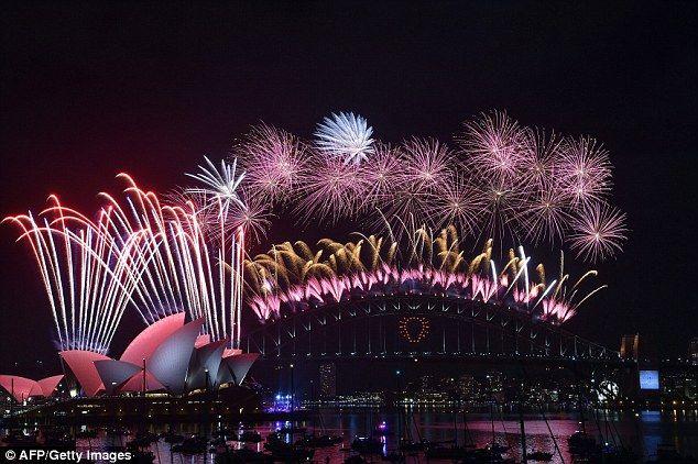 #Sydney #NYE #Fireworks