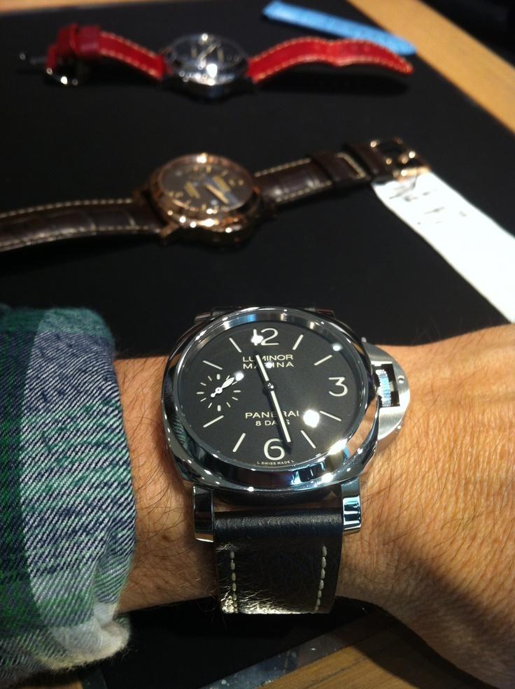 510 on my wrist, nice! | Panerai | Pinterest | Nice