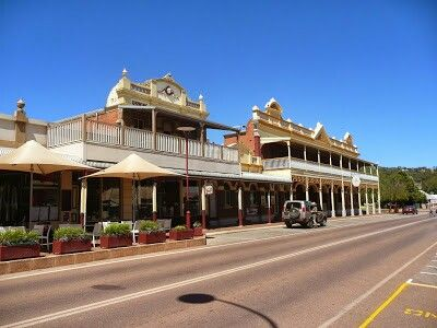 Toodyay Sterling Terrace shops  hotel