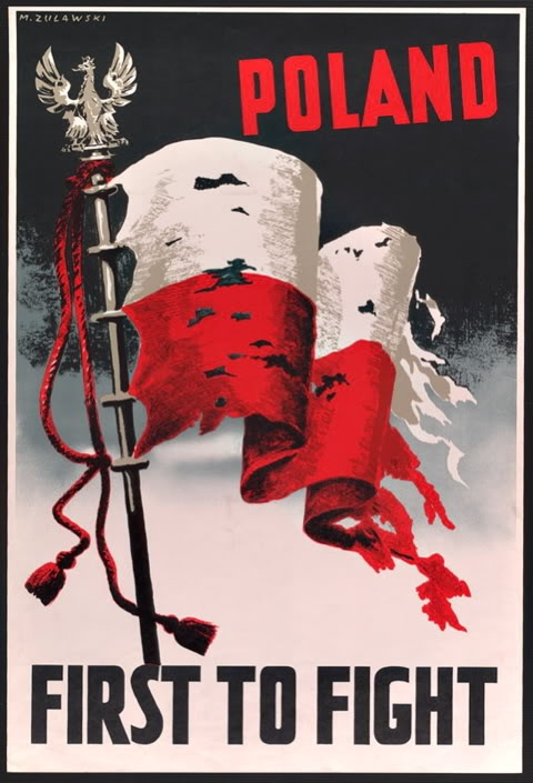 No. 303 Polish Fighter Squadron - Poster