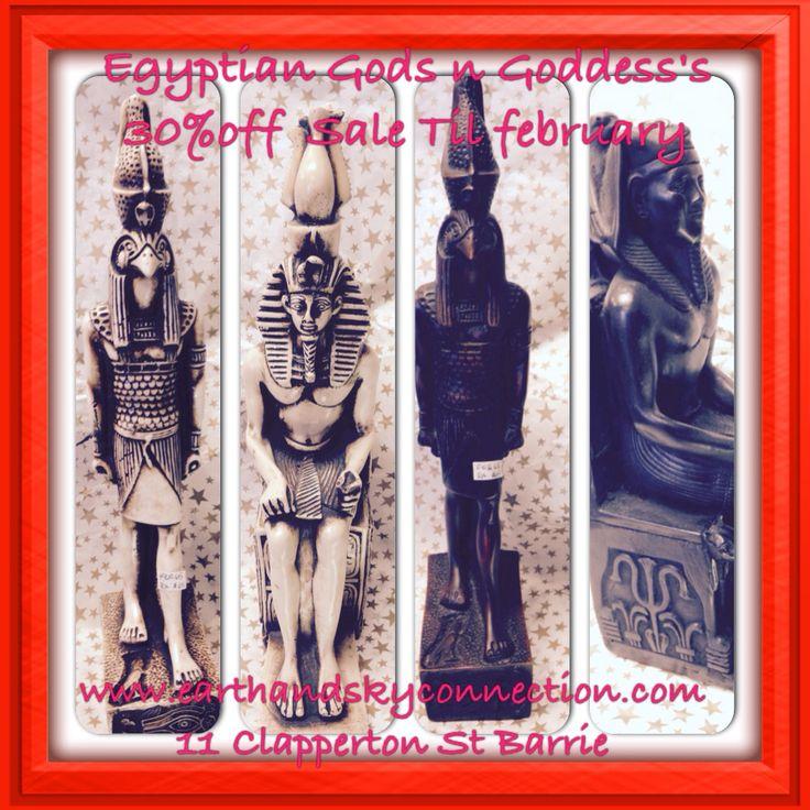 #Egyptian #gods #goddess 30% off #Sale Until end of #January only at #earthandskyconnection #ra #Amun, #Anubis, #Aten, #Atum. #Bastet, #Bes, #Geb, #Hapy. #Hathor, #Khepri #Khnum, #Ma'at, #Nephthys #Nun. Nut#Horus #kingtut #isis #seth # www.earthandskyconnection.com 11 Clapperton St #Barrie