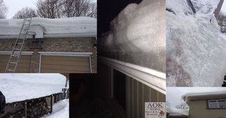 Fixing your home due to heavy ice loads and roof leaks? When Insurance companies assign a restoration company to begin the process of drying and repairing, they can't usually help until the problem on your roof is dealt with.  We have it here for you! 4 Easy Winter Damage Home Repair Steps - Restoration Made Easy