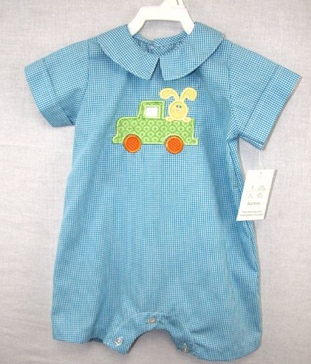 291678 Baby Bubble  Baby Boy Clothes  Boys Easter  by ZuliKids, $29.50