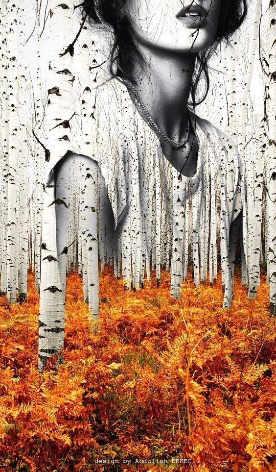 Double exposure design - Abdullah ERKEÇ