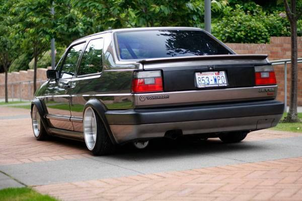 Absolutely beautiful mk2 Volkswagen Jetta coupe.