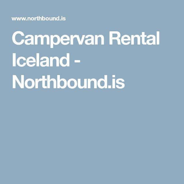 Campervan Rental Iceland - Northbound.is
