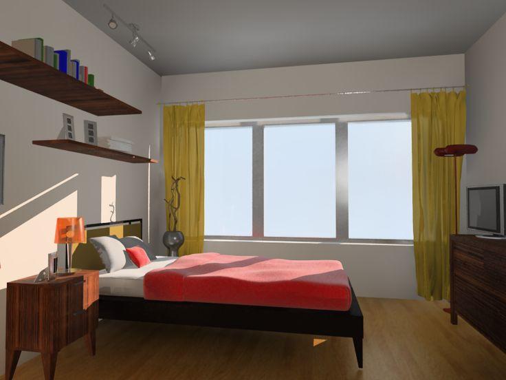 Remodelación residencia de ancianos Madrid. Dormitorios más acogedores y modernos.