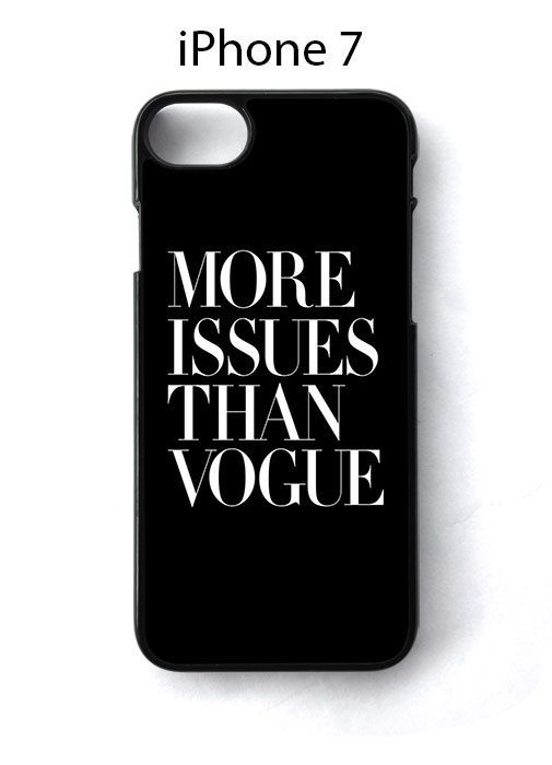 More Issues Than Vogue iPhone 7 Case Cover - Cases, Covers & Skins