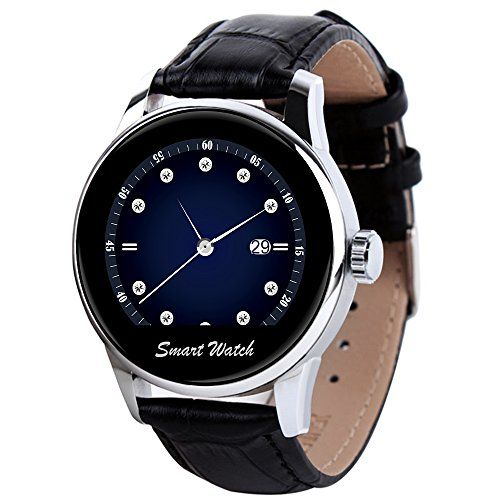StarryBay Smart Watch 1.22″ HD IPS Capacitive Touch Screen Writwatch with Voice Gesture Control for Dual Systems/ Android iPhone  http://stylexotic.com/starrybay-smart-watch-1-22-hd-ips-capacitive-touch-screen-writwatch-with-voice-gesture-control-for-dual-systems-android-iphone/