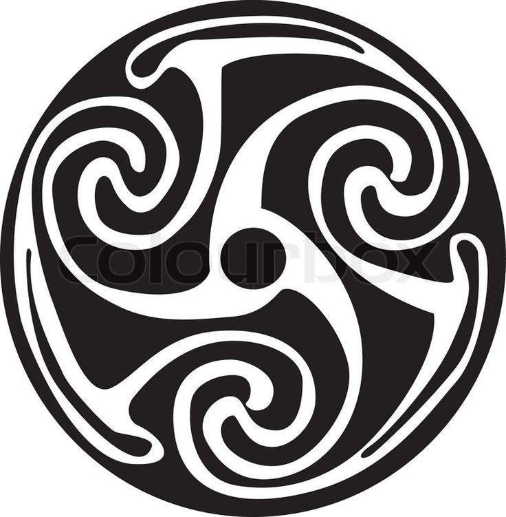 Celtic symbol - tattoo or artwork | Vector | Colourbox
