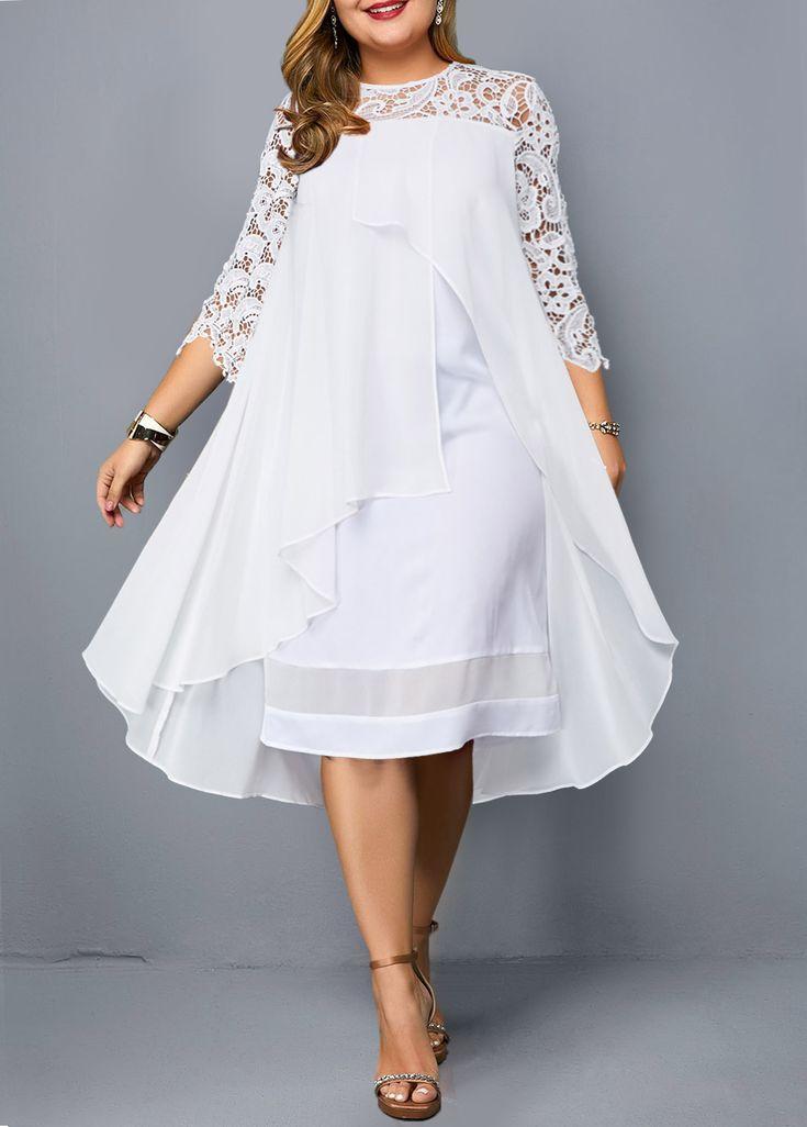större storlekar klänning