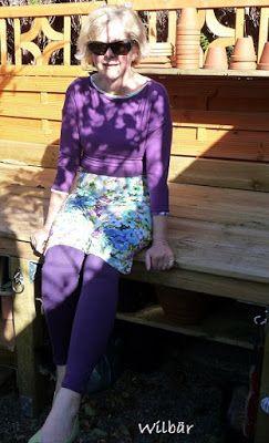 Kreatives aus dem Drosselgarten: Rosa P. Kleid 'Blanche'
