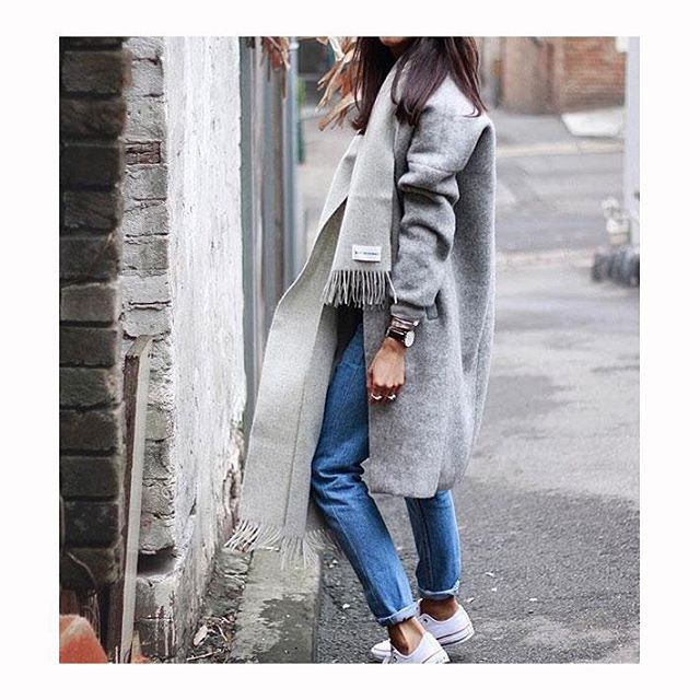 @pepamack rocking a casual cool outfit with her Noisy may coatigan  #Noisymay #coatigan  Style ID: 10141779