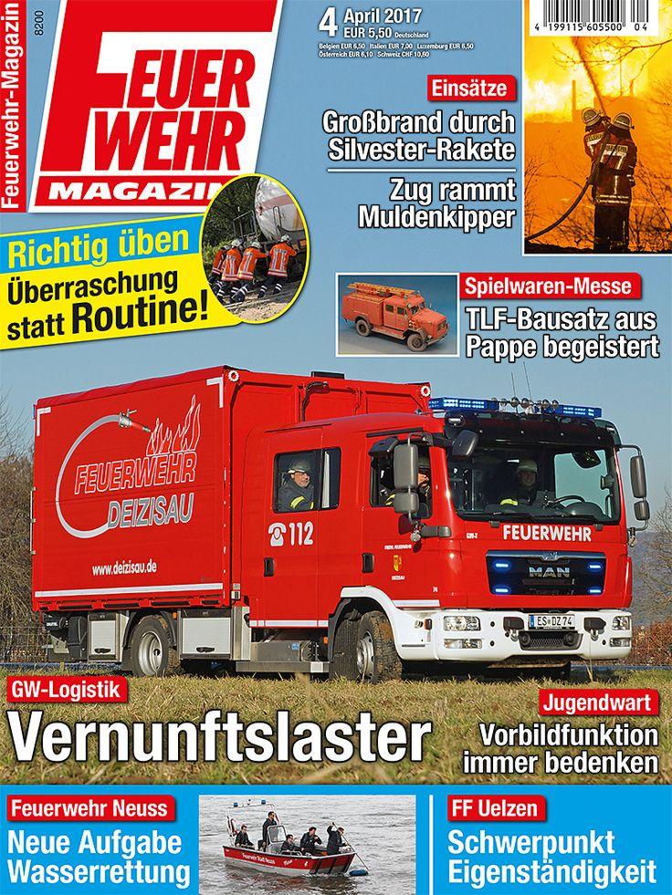 Aktuelle Feuerwehr-Magazin-Ausgabe 4/2017 http://www.feuerwehrmagazin.de/das-heft/aktuelle-feuerwehr-magazin-ausgabe-42017-67862 :-D
