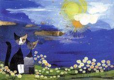 Au Fil Des Pages ...: Les Chats de Rosina Wachtmeister