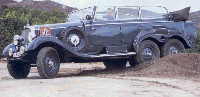 MERCEDES G-4 WAGEN - нацистська партія Офіційні Автомобілі