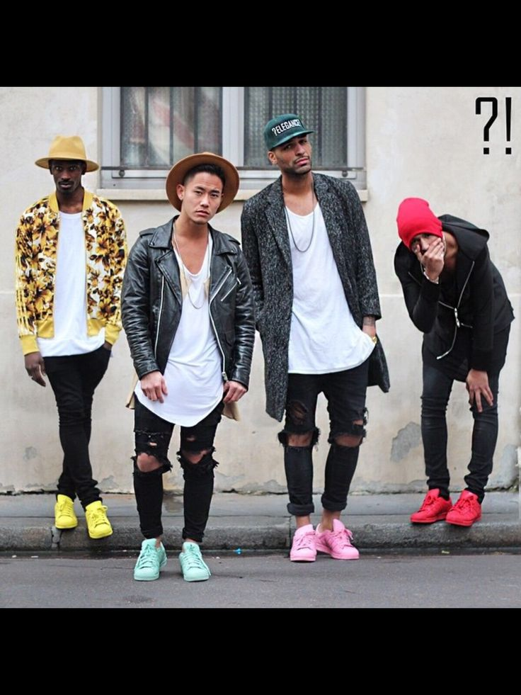 Mens fashion trends 2015   Oversized shirts, biker jacket and destroyed skinny jeans are the raddest looks in urban street fashion.
