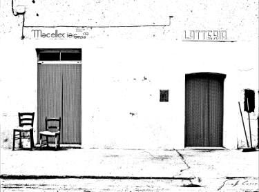 Rapolla two chairs butcher's and milk's shop
