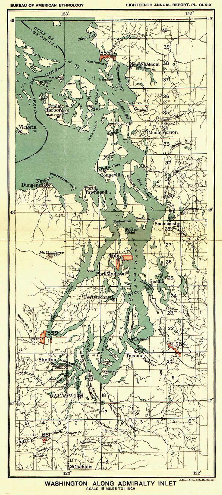 50 best maps images on pinterest vintage christmas cards and washington along admiralty inlet map camano islandmuseum geenschuldenfo Image collections
