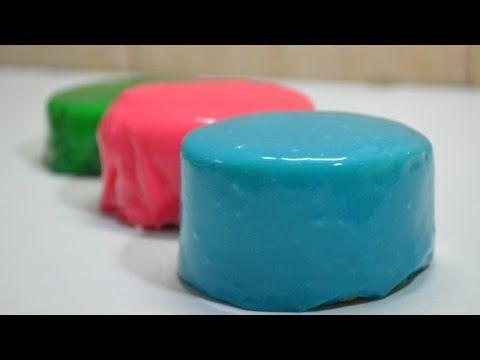 Glaseado espejo sobre mousse de yogur y frambuesa | Mirror Glaze | Quiero Cupcakes! - YouTube