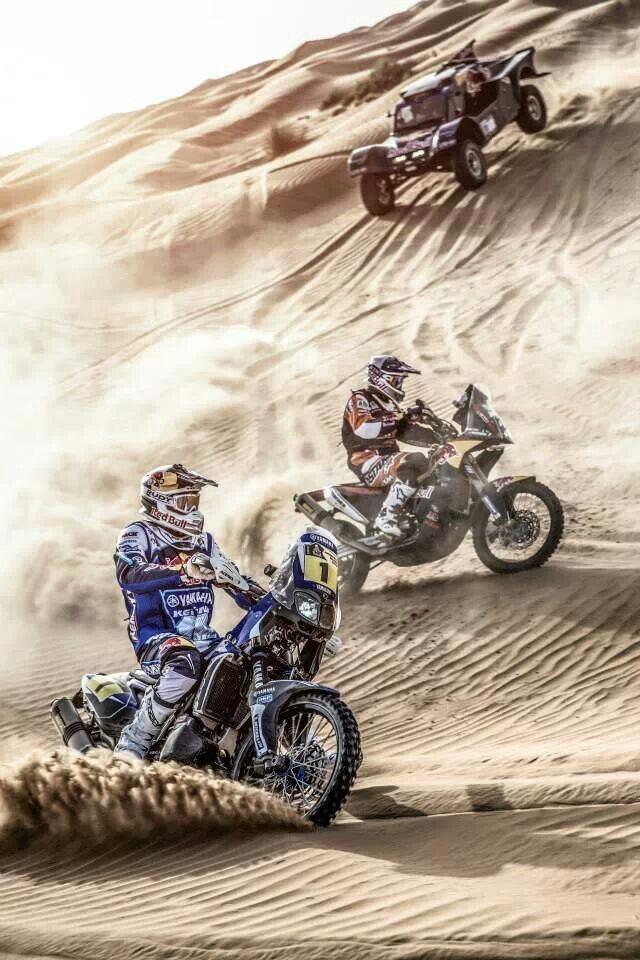 Dakar 2014. These riders are hard core. una aventura y diversión,,, · Dirt  Bike ...