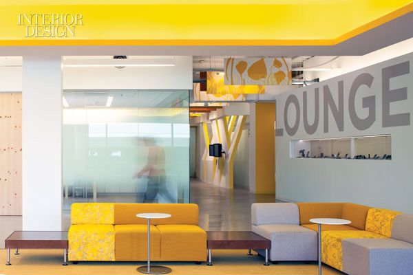 Gensler dialed up bright color for Nokia in Silicon Valley--and the IIDA answered with an award.