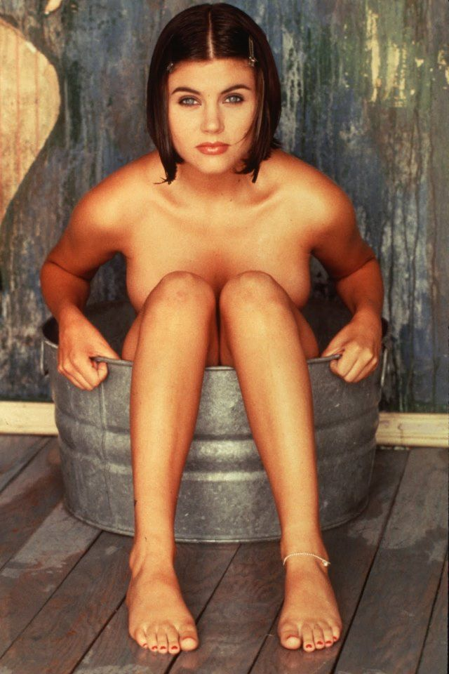 Assured, Tiffani amber thiessen toes confirm. And