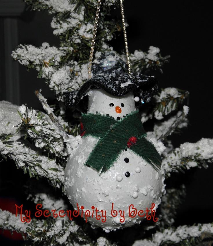 My Serendipity: Snowman Ornament