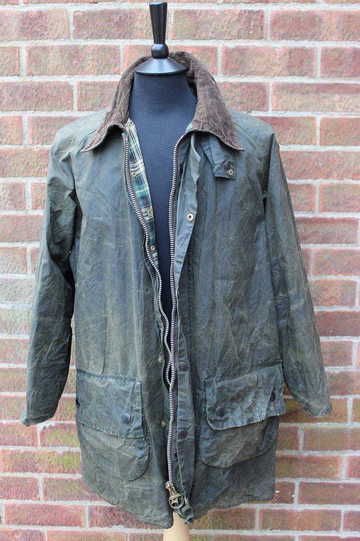 Original Vintage Barbour Gamefair Country Wax Jacket 40 Medium. £50.00, via Etsy.