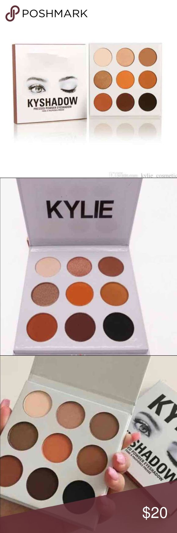 kylie bronze shadow palette new kylie kyshadow makeup palette fast shipping - Martine Mah Coloration