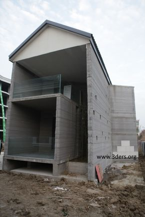 3ders.org - Exclusive: WinSun China builds world's first 3D printed villa and tallest 3D printed apartment building | 3D Printer News & 3D Printing News