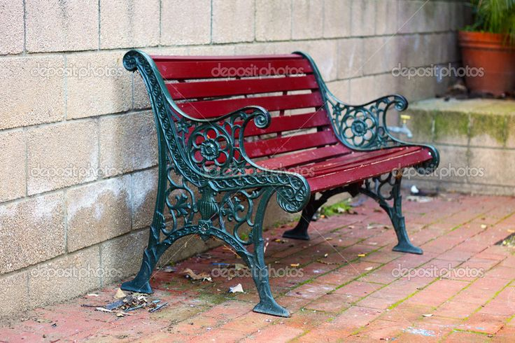 32 best images about painting tips on pinterest garden for Painted outdoor benches