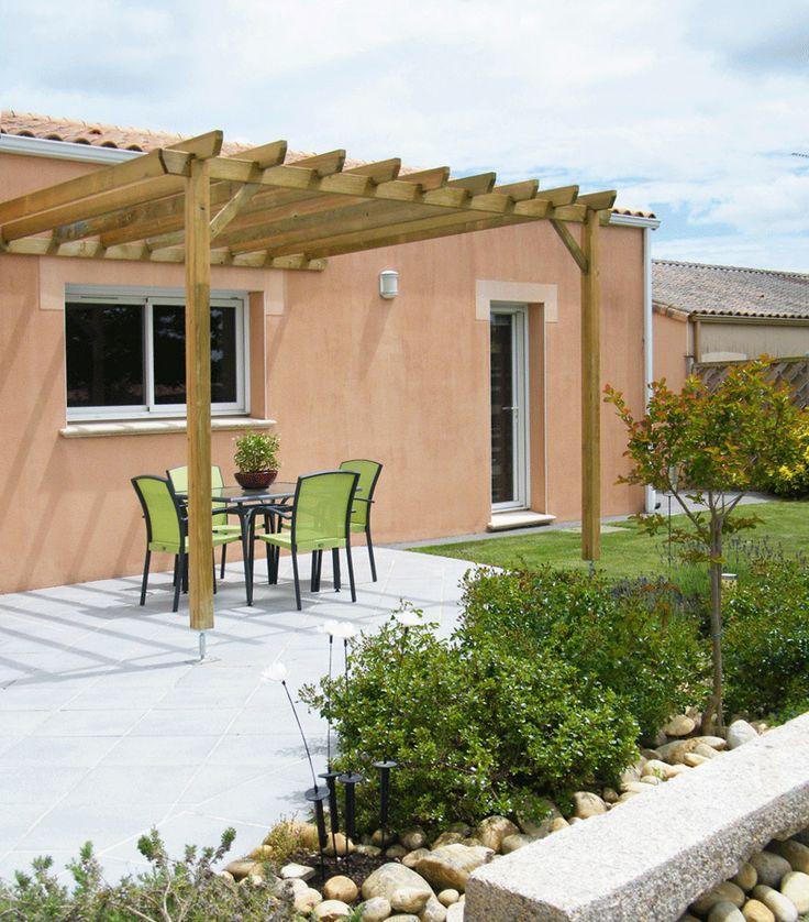 Pergola Bois Juzina Pour Un Confort Optimal Lors De Vos Sorties Sur Votre Terrasse Terrasse
