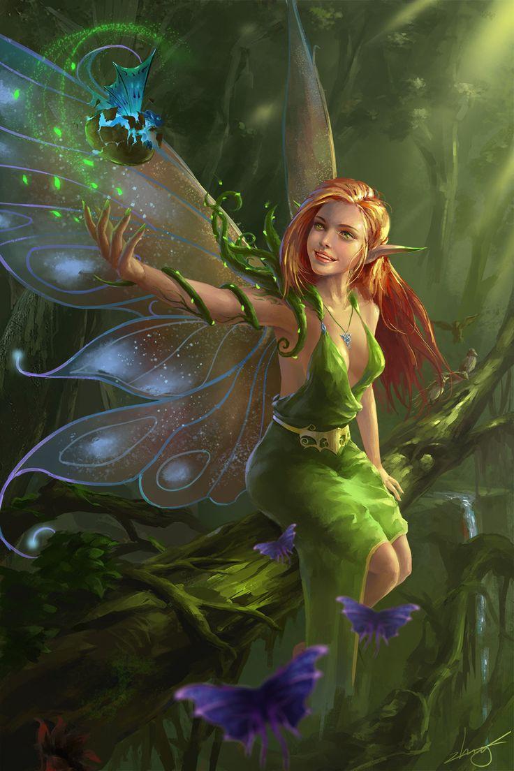 3d fantasy art fairies - photo #11