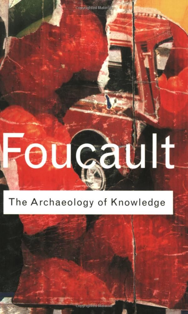 archaeology of knowledge pdf