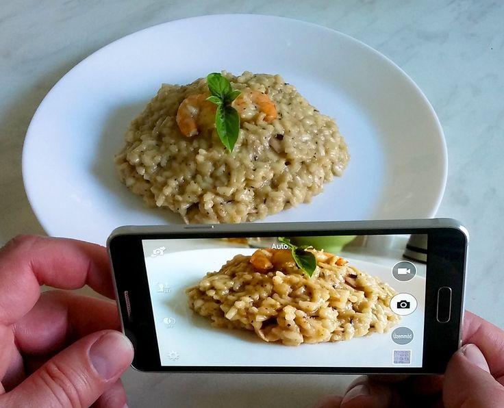 Rizotto con Gamberetti #italianfood, #rizotto